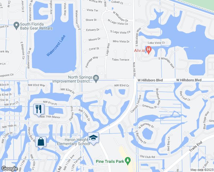 Parkland Florida Map.11370 Northwest 83rd Court Parkland Fl Walk Score