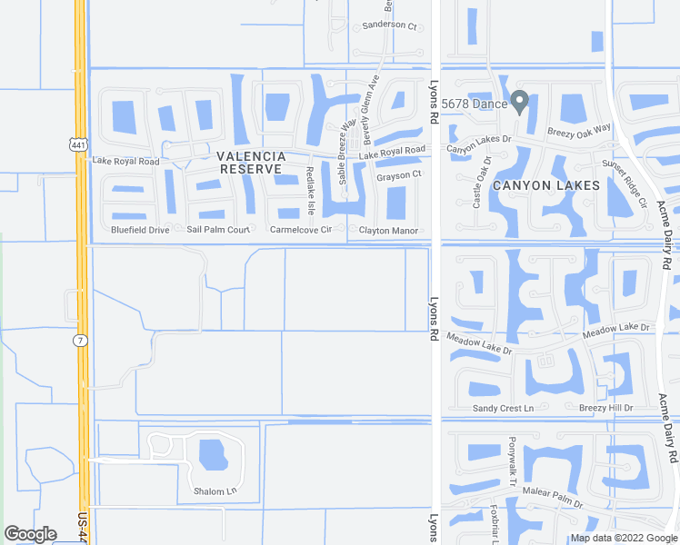 map of restaurants, bars, coffee shops, grocery stores, and more near in Boynton Beach