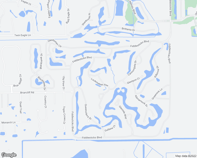 map of restaurants, bars, coffee shops, grocery stores, and more near 15672 Carriedale Lane in Fort Myers