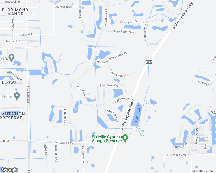 map of restaurants, bars, coffee shops, grocery stores, and more near 11400 Fallow Deer Court in Fort Myers