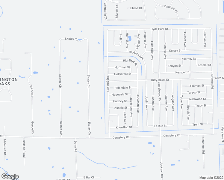 map of restaurants, bars, coffee shops, grocery stores, and more near 3861 Hillandale Street in Fort Myers