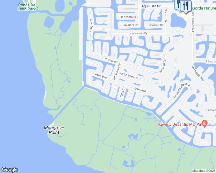 Map Of Punta Gorda Florida.3818 Bermuda Court Punta Gorda Fl Walk Score
