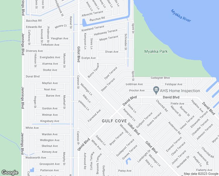 Map Of Port Charlotte Florida.4625 Sines Lane Port Charlotte Fl Walk Score