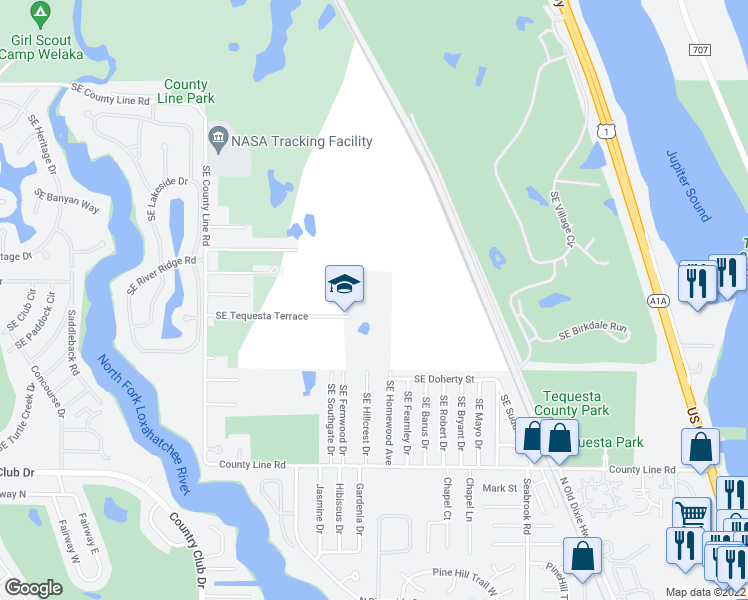 Jupiter Florida Map.11301 Southeast Tequesta Terrace Jupiter Fl Walk Score