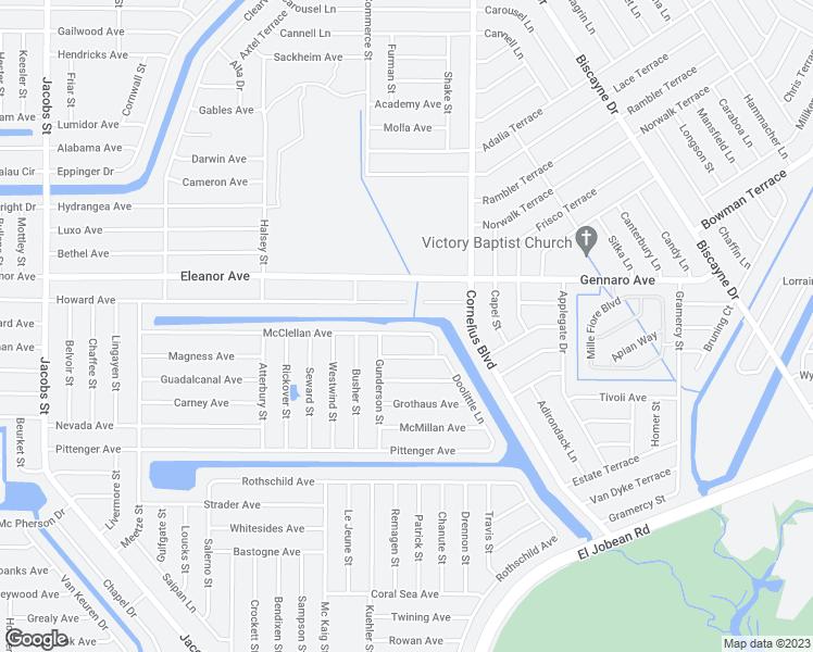 Map Of Port Charlotte Florida.14456 Mcclellan Avenue Port Charlotte Fl Walk Score