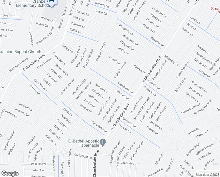Map Of North Port Florida.2333 Pickard Lane North Port Fl Walk Score