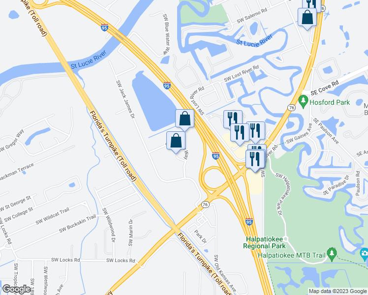 Stuart Florida Map.7849 Southwest Ellipse Way Stuart Fl Walk Score