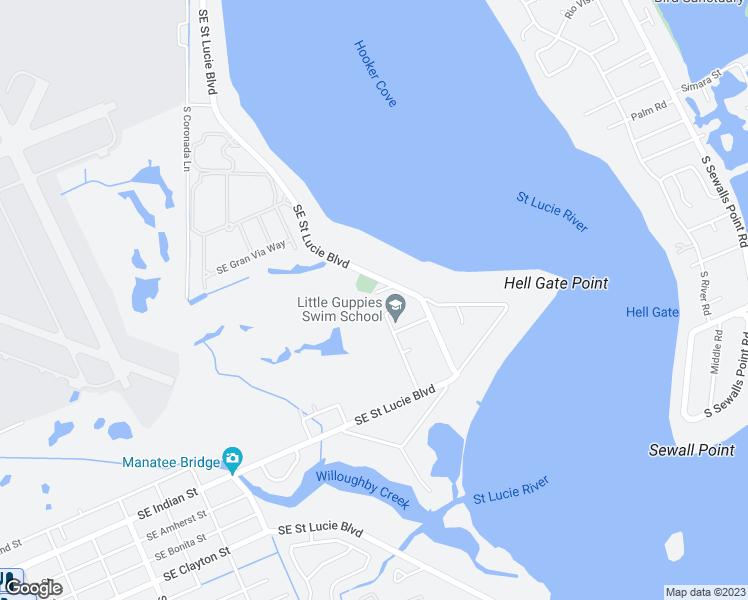 Stuart Florida Map.3650 Southeast Country Club Lane Stuart Fl Walk Score