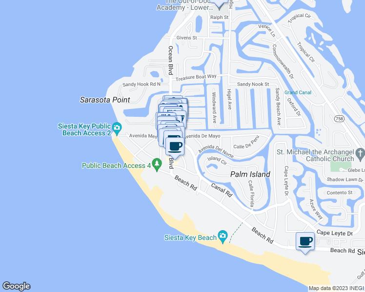 Map Sarasota Florida.308 Canal Road Sarasota Fl Walk Score