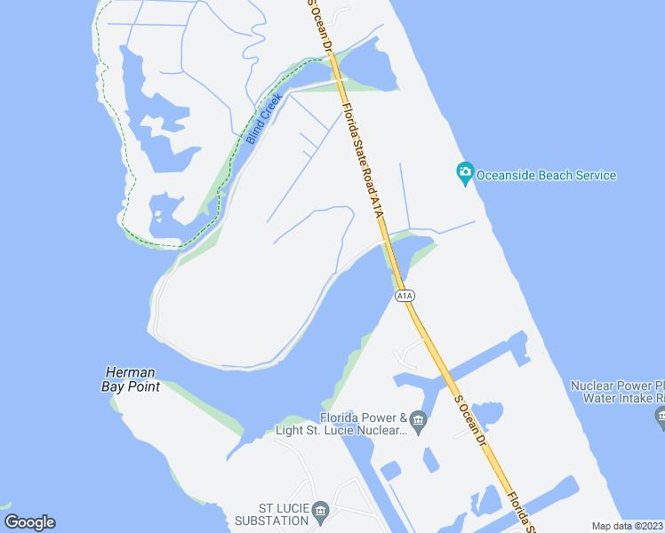 Hutchinson Island Florida Map.18 Seaway Drive Hutchinson Island Fl Walk Score
