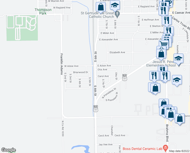Map Of Texas Kingsville.S 6th St Carol Ave Kingsville Tx Walk Score