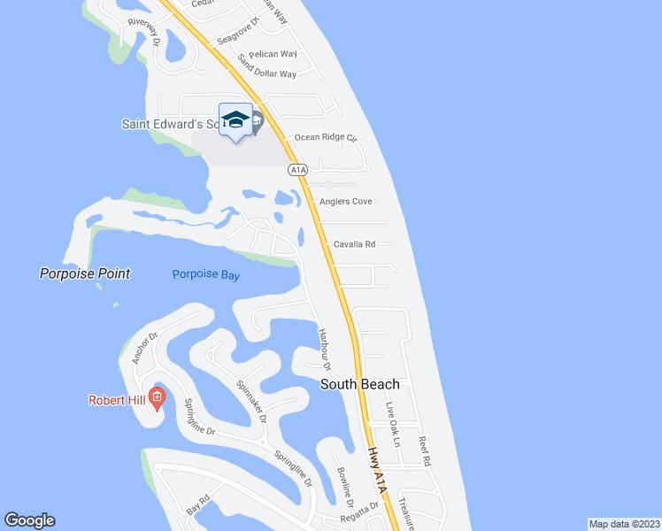 Map Of Vero Beach Florida.101 203 Highway A1a Vero Beach Fl Walk Score