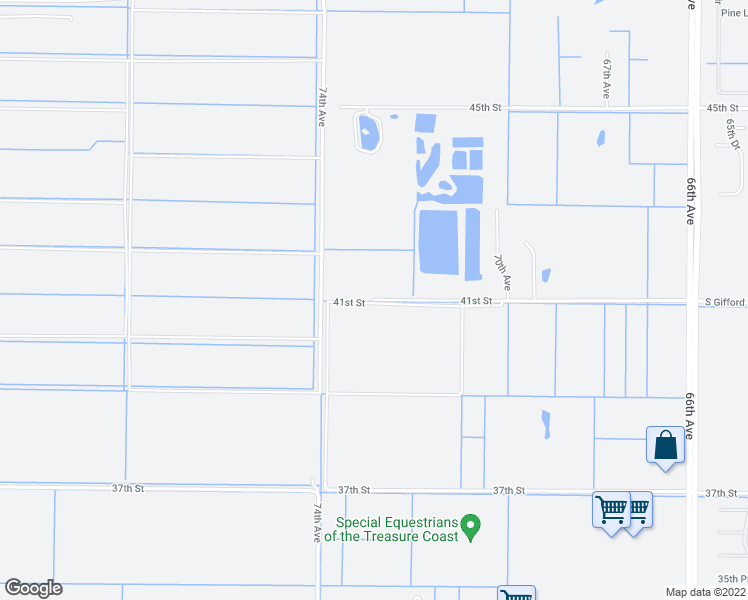 map of restaurants, bars, coffee shops, grocery stores, and more near 7155 41st Street in Vero Beach