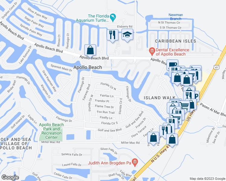 Map Of Restaurants Bars Coffee S Grocery Ore Near 484