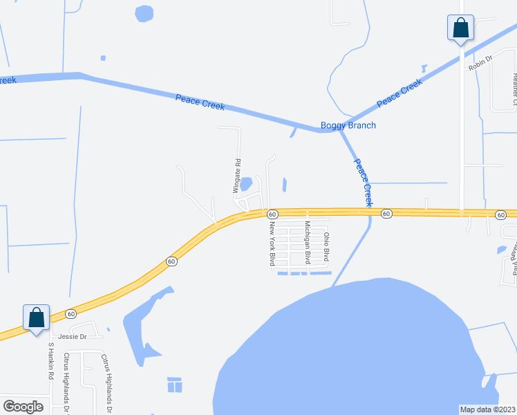 Bartow Florida Map.275 Alan Loop Bartow Fl Walk Score