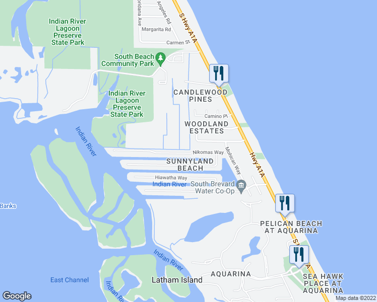 Melbourne Beach Florida Map.326 Nikomas Way Melbourne Beach Fl Walk Score