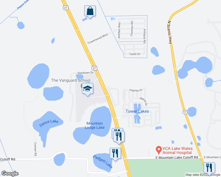 Lake Wells Florida Map.101 Tower Point Circle Lake Wales Fl Walk Score