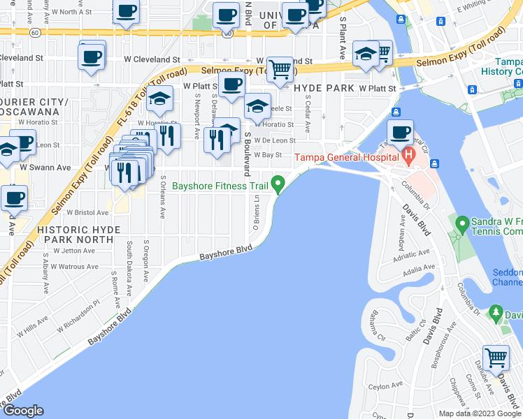 Restaurants Near Bayshore Blvd