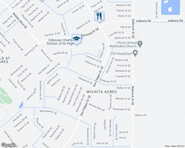 Palm Bay Florida Map.1471 Sandusky Street Southeast Palm Bay Fl Walk Score