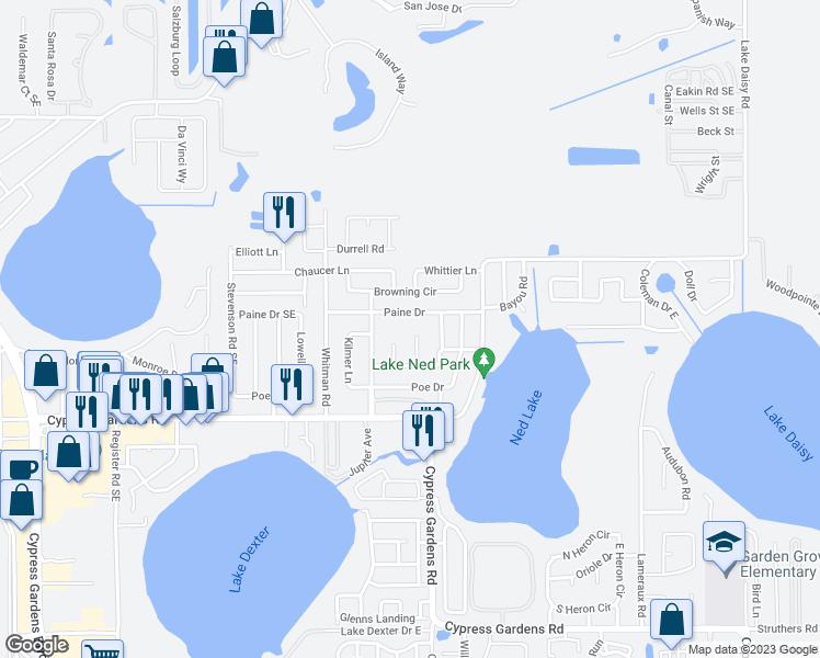 117 Holmes Place Southeast, Winter Haven FL - Walk Score