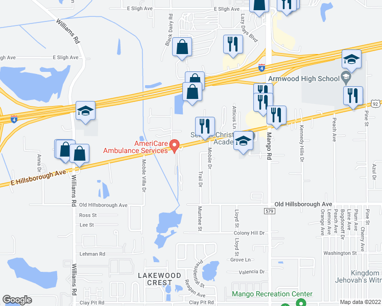 Map Of Restaurants Bars Coffee Shops Grocery Stores And More Near 11325