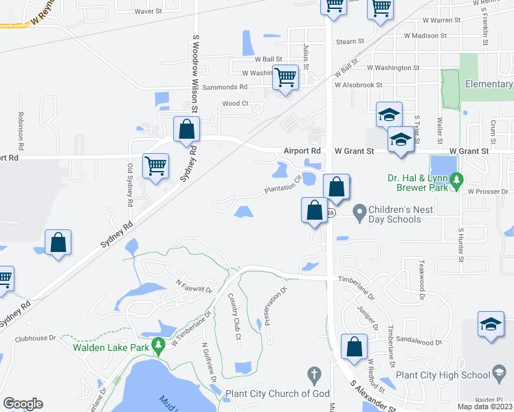 Plant City Florida Map.Hunters Ridge At Walden Lake Apartments Plant City Fl Walk Score