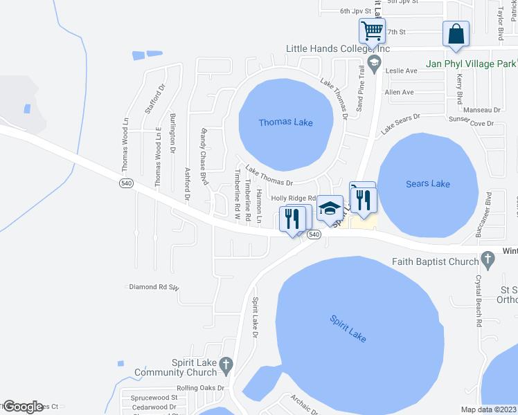 Winterhaven Florida Map.3111 Harmon Lane Winter Haven Fl Walk Score