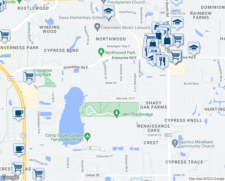 Map Of Clearwater Florida.Sunstream Lane Clearwater Fl Walk Score