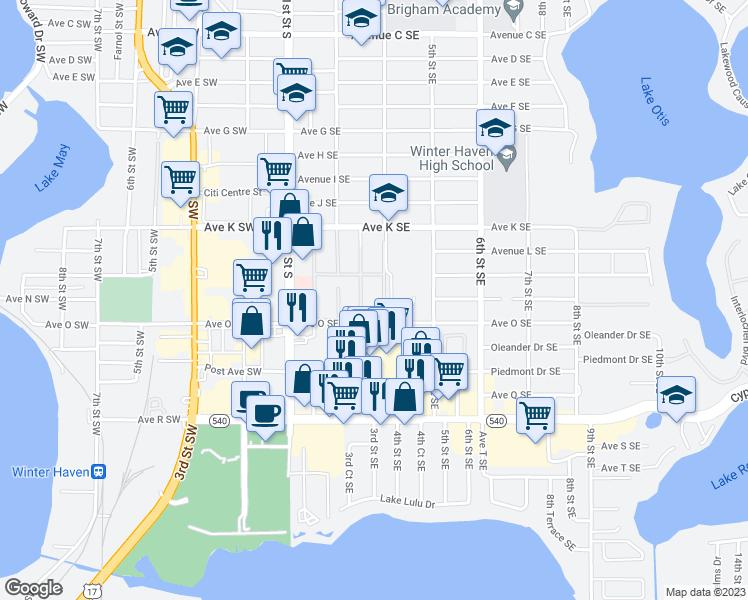 200 Avenue K Southeast, Winter Haven FL - Walk Score