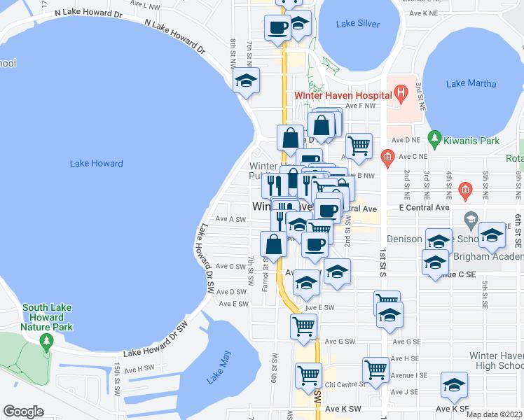 638 West Central Avenue, Winter Haven FL - Walk Score