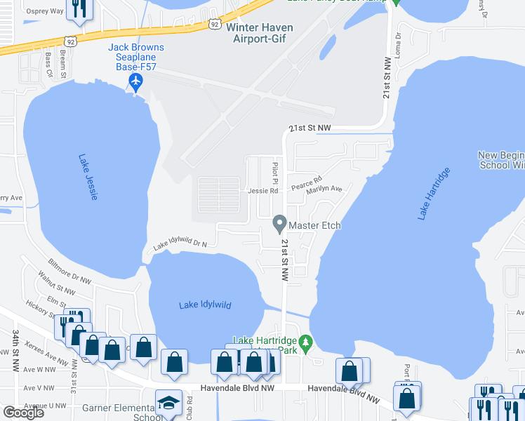 2720 Idylridge Drive, Winter Haven FL - Walk Score