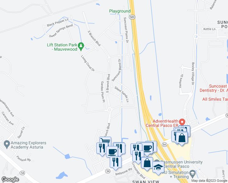 Odessa Florida Map.Odessa Fl Walk Score