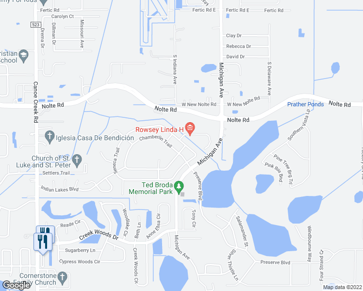 St Cloud Florida Map.737 Seneca Trail St Cloud Fl Walk Score