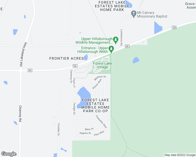 map of restaurants, bars, coffee shops, grocery stores, and more near 41242 Whitmer Dr in Zephyrhills