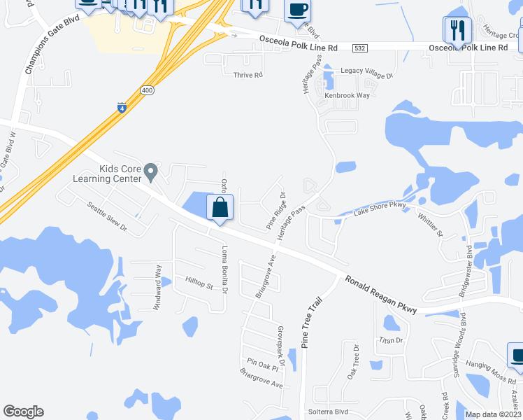 Map Of Davenport Florida.141 Willow View Drive Davenport Fl Walk Score