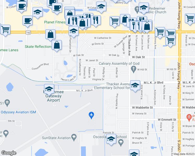 602 Francis Street, Kissimmee FL - Walk Score on kissimmee neighborhood map, kissimmee area map, kissimmee street names, kissimmee area attractions, kissimmee florida, kissimmee downtown map,