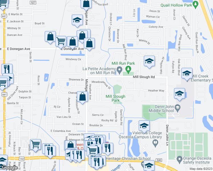 1383 Meadowbrook Street, Kissimmee FL - Walk Score on kissimmee neighborhood map, kissimmee area map, kissimmee street names, kissimmee area attractions, kissimmee florida, kissimmee downtown map,