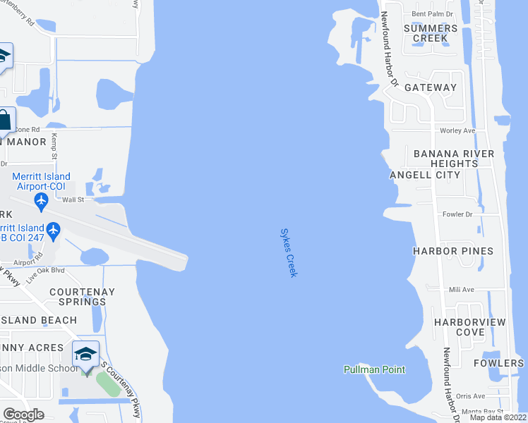 Where Is Merritt Island Florida On The Map.1615 Larchmont Ct Merritt Island Fl Walk Score