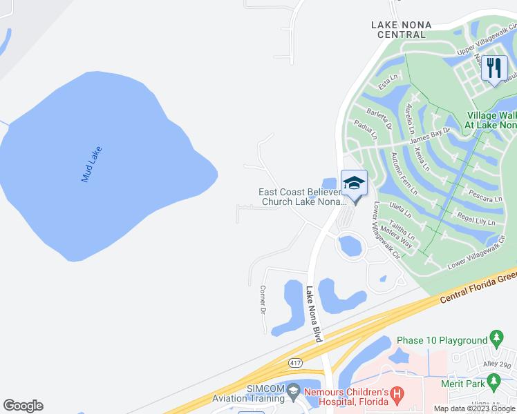 lake nona florida map 12386 Lake Nona Gateway Road Orlando Fl Walk Score lake nona florida map
