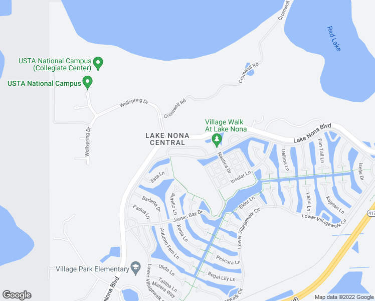 map of restaurants, bars, coffee shops, grocery stores, and more near 11903 Fiore Drive in Orlando