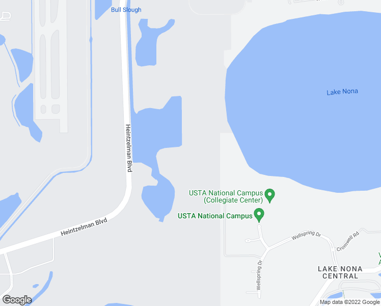 map of restaurants, bars, coffee shops, grocery stores, and more near in Orlando