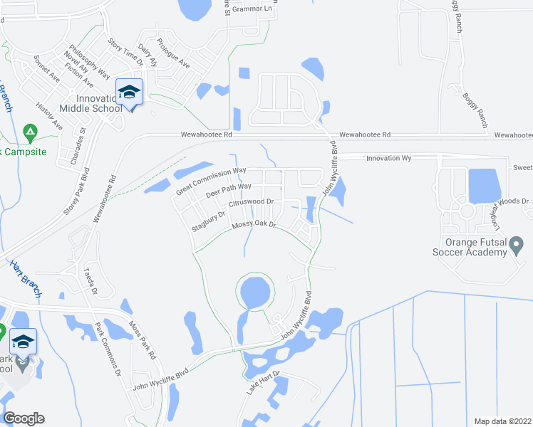 map of restaurants, bars, coffee shops, grocery stores, and more near 9132 Grey Moss Drive in Orlando