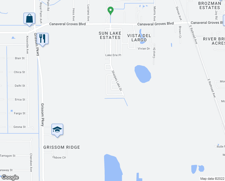 Crystal Lake Florida Map.628 Crystal Lake Drive Cocoa Fl Walk Score