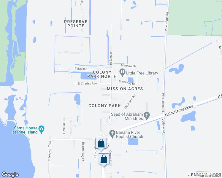 Where Is Merritt Island Florida On The Map.6772 Whaley Drive Merritt Island Fl Walk Score