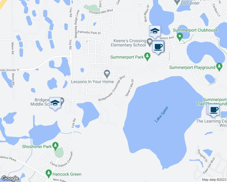Winter Garden Florida Map.Bridgewater Crossings Boulevard Winter Garden Fl Walk Score