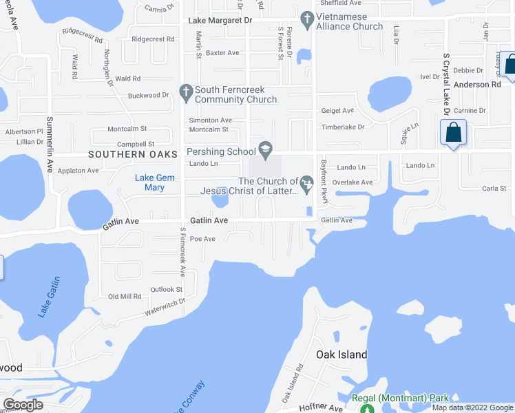 map of restaurants, bars, coffee shops, grocery stores, and more near 4608 Gatlin Oaks Lane in Orlando