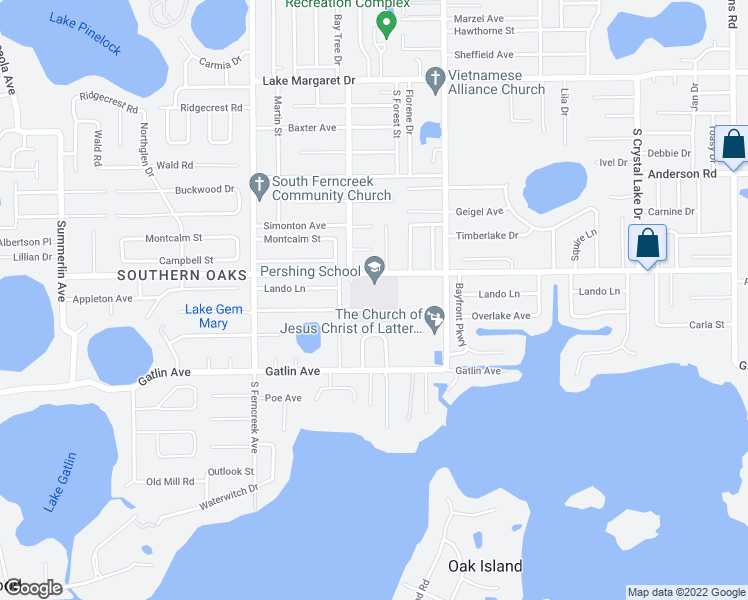 map of restaurants, bars, coffee shops, grocery stores, and more near 4649 Gatlin Oaks Lane in Orlando