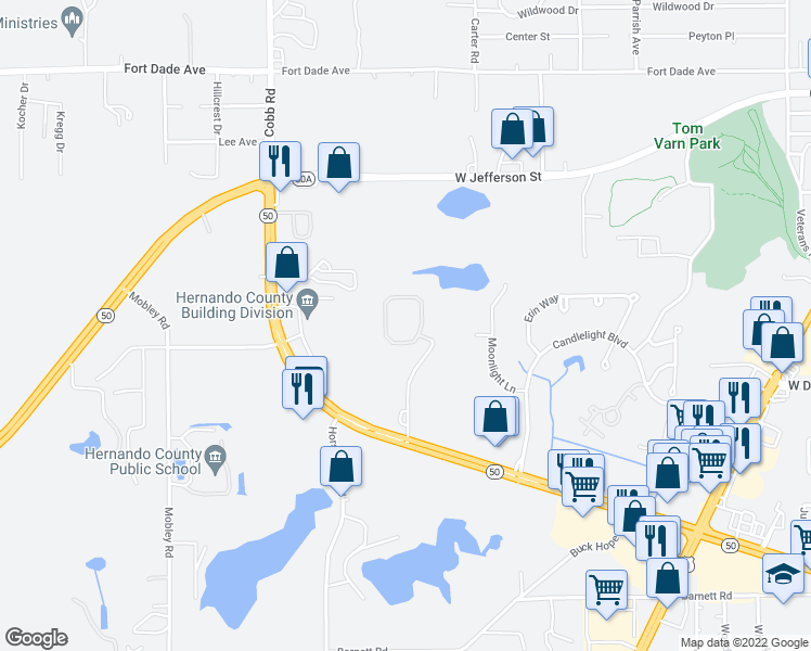 Brooksville Florida Map.7781 Crystal Brook Circle Brooksville Fl Walk Score
