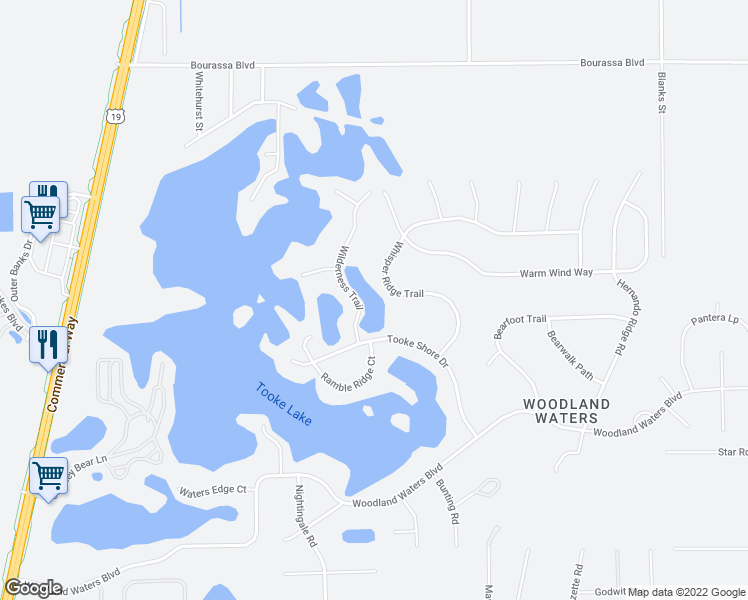9601 Whisper Ridge Trail Weeki Wachee Fl Walk Score