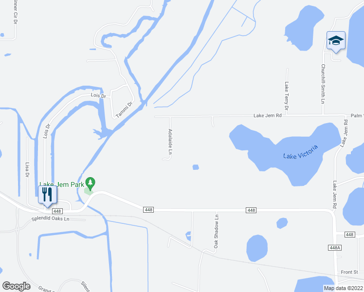 Lake Dora Florida Map.16640 Adelaide Lane Mount Dora Fl Walk Score
